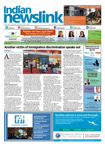 Indian Newslink July 1 2018 Digital Edition