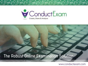 Online Exam Software - Conduct Exam