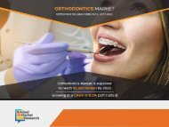 Orthodontics Market Expected to Reach $2,597 Million, Globally, by 2023
