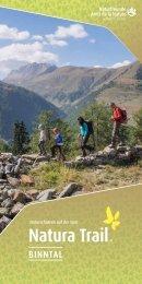 Natura Trail Binntal DE