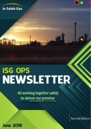 ISG OPS Newsletter-June 2018
