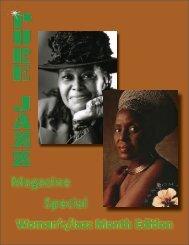Pure Jazz Magazine Special Women's/Jazz Month Issue