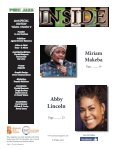 Pure Jazz Magazine Special Women's/Jazz Month Issue - Page 4