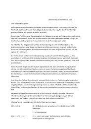 Hinterbrühl, am 28. Oktober 2012 Liebe ... - ÖVP Hinterbrühl