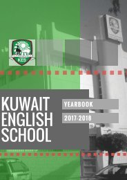 KES Yearbook 2017-2018