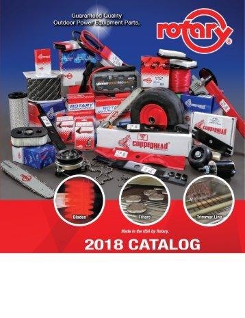 2018 Rotary Catalog_NonPriced