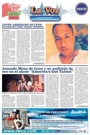 La Voz 6-28-2018