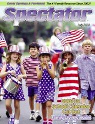 Spectator Magazine July 2018