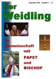 Der Weidling 3/2005 - Die Pfarre St.Jakob Windischgarsten ...