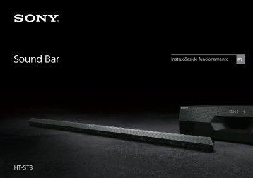 Sony HT-ST3 - HT-ST3 Mode d'emploi Portugais