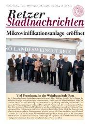 Datei herunterladen - .PDF - Stadtgemeinde Retz