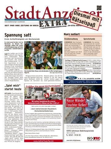 Stadtanzeiger Extra kw 26