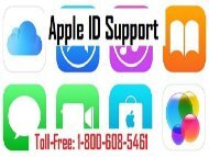 Contact Apple ID Customer Support Number Dial 1-800-608-5461
