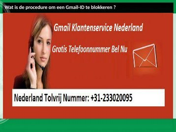 Wat is de procedure om een Gmail-ID te blokkeren