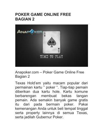 POKER GAME ONLINE FREE BAGIAN 2