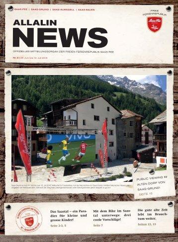 Allalin News Nr. 9/2018