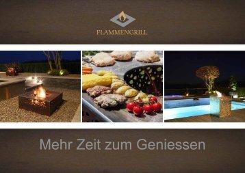 Flammengrill Broschüre 2018