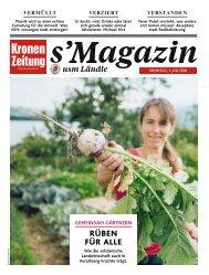 s'Magazin usm Ländle, 1. Juli 2018
