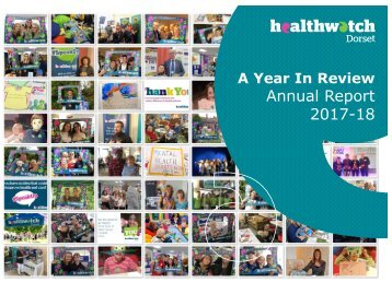Healthwatch Dorset Annual Review 2018