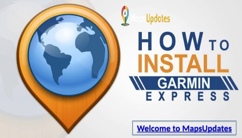 Garmin Express Installation Support, Helpline for USA: +1-844-441-2440 & UK: +44-800-046-5297 Toll-Free