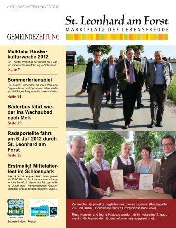 (3,98 MB) - .PDF - St. Leonhard am Forst