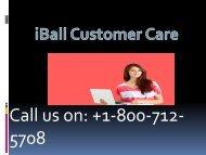 iball customer care