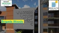 Brigade Woods Whitefield Brochure
