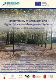 career success from the higher education perspective - DEHEMS