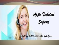 Apple Technical Support Number Call 1-800-608-5461