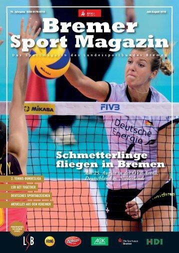BREMER SPORT Magazin | Juli-August 2018