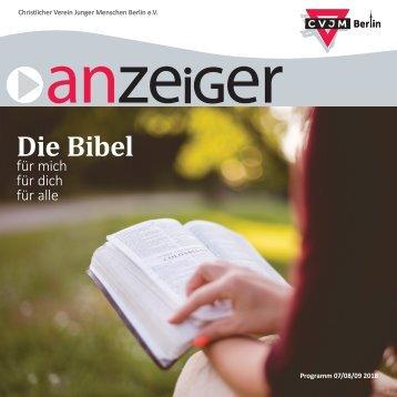 Anzeiger CVJM Berlin e.V. 03/2018