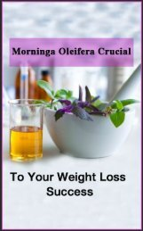 Non surgical body sculpting- Why is Moringa Oleifera Crucial to Your Weight Loss Success