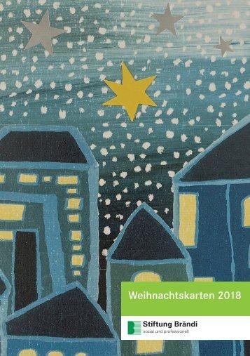 Stiftung Brändi Weihnachtskarten 2018