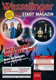 Wesselinger Stadt Magazin Juni 2018