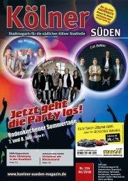 Kölner Süden Magazin Juni 2018