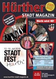 Hürther Stadt Magazin Juni 2018