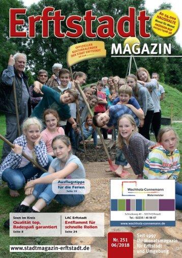 Erftstadt Magazin Juni 2018