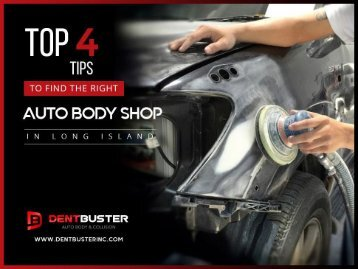 Leading Auto Body Shop in Long Island - Dent Buster Inc