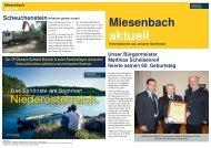 GPZ 2010-07.pub - ÖVP Miesenbach - Volkspartei Niederösterreich