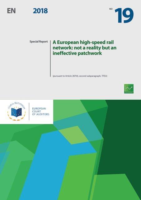 La Red de Alta Velocidad Europea: Más un mosaico poco efectivo que una realidad