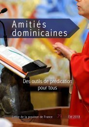 Amitiés dominicaines 79