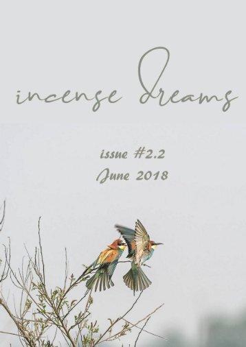 incense dreams JOURNAL - issue 2.2 - NASCITA - RINASCITA - RISVEGLIO