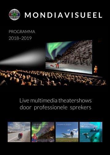 Mondiavisueel seizoenprogramma 2018-2019