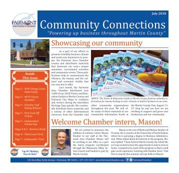 Chamber Newsletter - July 2018