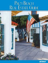 July 2018 Palm Beach Real Estate Guide