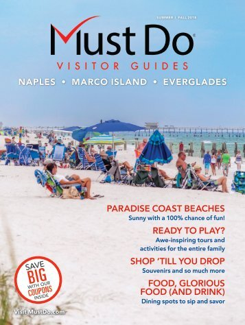 Must Do Naples Visitor Guide Summer/Fall 2018