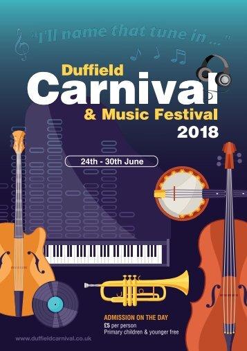 Duffield Carnival & Music Festival 2018