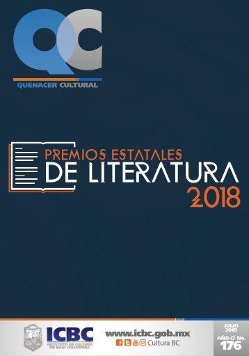 Agenda Cultural del ICBC Julio 2018