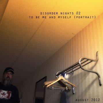 Disorder Nights #2