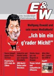 """""""Ich bin ein g'rader Michl!"""" - E&W"""